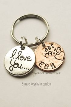 Husband Wife Keychain Valentines Day. Daddy Mom Gift Fathers Day Mothers Day Gift Girlfriend Boyfriend Gift Fireman Keychain