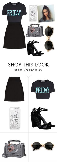 """""""Untitled #603"""" by coutobeatriz ❤ liked on Polyvore featuring Gucci, Alberta Ferretti and Kate Spade"""