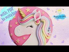 Savory magic cake with roasted peppers and tandoori - Clean Eating Snacks Diy Unicorn Cake, Unicorn Cake Pops, Unicorn Birthday, Unicorn Head, Cake Birthday, Unicorne Cake, Diy Cake, Cake Smash, Bee Cakes
