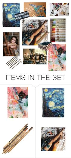"""Art All Over"" by rachelaubry ❤ liked on Polyvore featuring art"