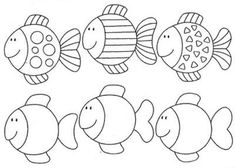 Risultati immagini per pracovní listy zima Animal Coloring Pages, Colouring Pages, Coloring Sheets, Applique Patterns, Applique Designs, Rainbow Fish Template, Ocean Activities, Sea Crafts, Pre Writing