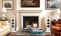 audio lifestyle: B&W CM House Design, Audio Room, Interior Design, Floor Standing Speakers, Home, Interior, Family Room, Home Theater Rooms, Home Decor