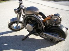 Number 178 Constant Velocity Joint by HeavyMetalMotorcycle on Etsy