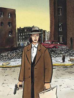 Jacques de Loustal, White Sonya: la couverture Comic Art
