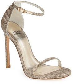 39f0d5e3a5a Stuart Weitzman  Nudist  Sandal (Women) Pretty Shoes
