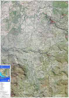 Carta Topografica Blera e Villa San Giovanni #viaggiare #archeologia #sentieri #campeggio #vacanze