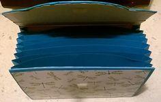 Carpetta porta documenti srapbooking - Briefcases scrapbooking