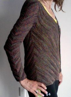 Ravelry: October 2013 Knitalong Seamless Vest or Jacket pattern by Iris Schreier