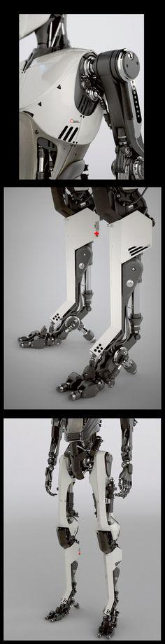 AUDI A4 ROBOTS COMMERCIAL by SADGAS , via Behance #robot