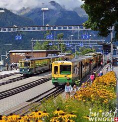 Train Station Wengen