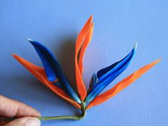 Tidy up the stem by wrapping the whole assembly with floral tape and bend into a right angle.