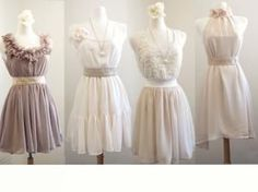 French Lace Mismatched bridesmaid dresses / Neutral Dress / Bridesmaid / Romantic / Cream / Dreamy / Bridesmaid / Party / wedding / Bride $79.99 Buy and Sell Crafts Online | Handmade Crafts to Sell? Free Posting