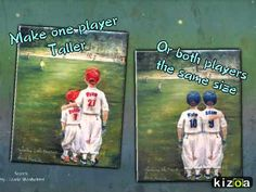"Personalized baseball sports print for kids ""Someday...Little Brother"" by LaurieShanholtzer https://www.etsy.com/listing/86962242/baseball-personalized-sports-art-print"