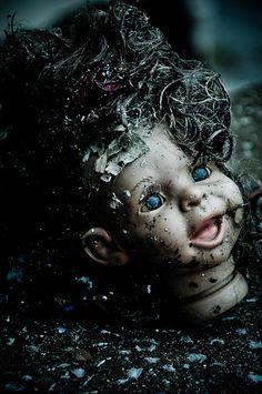 Dolls Eyes by James Edward Stafford, via Flickr