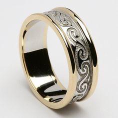 Dearbhail Celtic Wedding Ring (C-365)