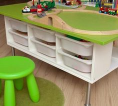 gro e lego tisch 20 x 30 lego oberfl che mit von vinestreetmaker diy nursery storage. Black Bedroom Furniture Sets. Home Design Ideas