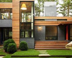 Modern Wood Home Modern Decor