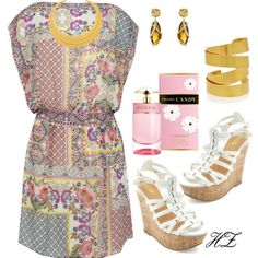 """""""Spring & Summer Outfit"""" by cog-hz on Polyvore"""