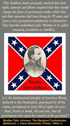 Speaks for itself Civil War Quotes, Civil War Art, Southern Heritage, Southern Pride, Confederate States Of America, Confederate Flag, Us History, History Facts, Ancient History