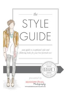 High School senior girls style guide