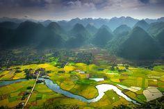Bacson valley by Hai Thinh | Các địa điểm để ghé thăm | Pinterest