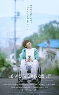 """~Jeon Jung Kook (Jungkook)~ 2017 Love Yourself poster. [""""The day that I want to run to that place, that my heart is taking me too""""]"""