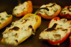 Stuffed Mini Bell Peppers