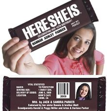 A HERESHEIS Hershey candy bar wrapper to announce baby's birth for boy or girl! Quince Invitations, Sweet 16 Invitations, Special Birthday, 16th Birthday, Birthday Ideas, Birthday Gifts, Sweet 16 Parties, Grad Parties, Hershey Candy Bars