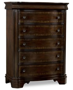 Delmont Chest, 5 Drawer - Bedroom Furniture