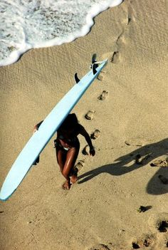 Girl With A Surfboard Tumblr