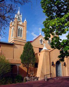 San Felipe Church - Old Town Albuquerque, NM