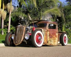 "Rad Rod is a whole hot rod genre I've missed out on. Wonderful example! ""Billy Gibbons rat rod"""