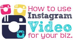5 Ways to Use Instagram Video for Your Business 5 Ways, Being Used, Success, Teaching, Digital, Business, Videos, Ali, Instagram