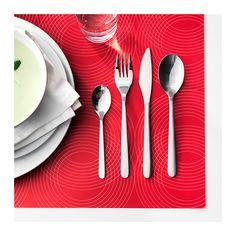 FÖRNUFT 24-piece cutlery set, stainless steel - IKEA