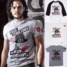 ¿ Ya todos listos para ver el último capítulo de esta temporada de #gameofthrones ? Hagan sus pedidos de estas playeras porque se acaban! 💀 ahorita tenemos descuentos‼️ www.stkm.co . . . #stockholm #got #tshirts #stockholmco #kichink #tshirt #thenorthremembers #kitharington #menswear #menstyle #urbanstyle #urbanwear #clothingline