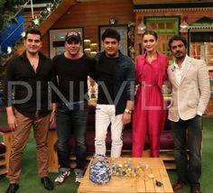 In Pics: Nawazuddin, Amy, Sohail and Arbaaz have a gala time on The Kapil Sharma Show