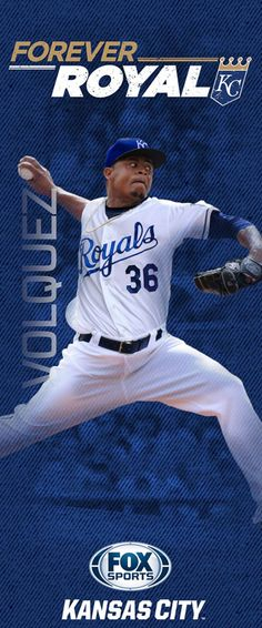 """Every season the Kansas City Royals and FOX Sports Kansas City hang banners at Kauffman Stadium and on streetpoles in the Country Club Plaza. Here are the 2015 """"Forever Royal"""" banners -- including banners for three key newcomers to the 2015 team. Pole Banners, Sporting Kansas City, City Pride, Royals Baseball, Buster Posey, Love My Boys, Fox Sports, Professional Football, Derek Jeter"""