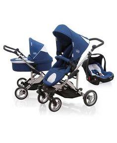 Ultraleicht, flexibel, faltbar und mit Sonnenschutzfaktor! Das alles und noch mehr hat der Kombi-Kinderwagen von Asalvo zu bieten! Cool!