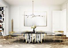 Exklusive Möbel Esszimmer Inspiration, Esszimmer Ideen, Wohn Esszimmer,  Schöner Wohnen Wohnzimmer, Wohnzimmer