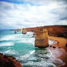 12 Apostles Great Ocean Road #greatoceanroad #roadtrip #nature #beachlife #victoria #australia #photography #beachbum #surf #naturelovers #beach #ocean by beaches2bays