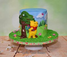 Winnie the Pooh and butterflies. by LenkaSweetDreams