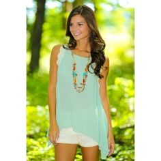 Three Wishes Blouse-Sage - $32.00 so cute! http://www.reddressboutique.com/tops/three-wishes-blouse-sage.html