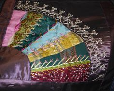 carole samples crazy quilting | Betty Pillsbury is an award-winning textile artist and crazy quilter ...