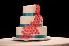 A beautiful cake to share with your guests. #NowAmberPuertoVallarta #Mexico #DestinationWedding