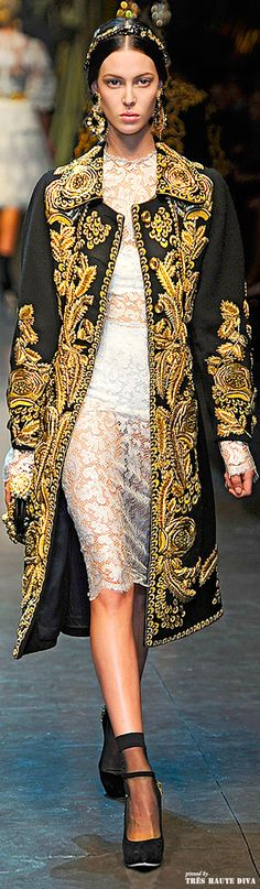 Dolce & Gabbana Fall 2012 Beautifuls.com Members VIP Fashion Club 40-80% Off Luxury Fashion Brands