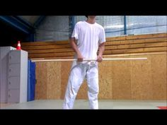 Bo Staff Spinning Tutorial 1 - Back Spin Combo - YouTube