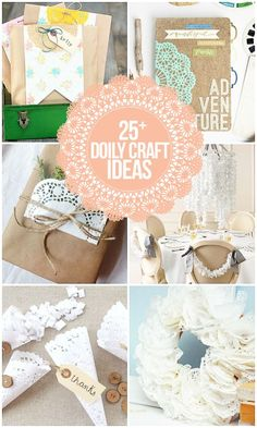 From wreaths to chandeliers, these paper doily crafts are… Doily Craft Ideas. From wreaths to … Paper Doily Crafts, Doilies Crafts, Paper Doilies, Paper Crafts For Kids, Diy Craft Projects, Craft Tutorials, Diy Paper, Crafts To Make, Fun Crafts