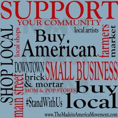 Support your community and join the made in America movement.
