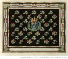 A tapestry made by Marie Antoinette and Madame Elisabeth in 1791-1792