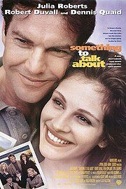a 1995 great American romantic comedy-drama .stars Julia Roberts and Dennis Quaid as an estranged couple, Kyra Sedgwick as Roberts's sister, and Robert Duvall and Gena Rowlands as their parents. Robert Duvall, See Movie, Movie Tv, Julia Roberts Movies, Film Mythique, Gena Rowlands, Image Film, Films Cinema, Drame
